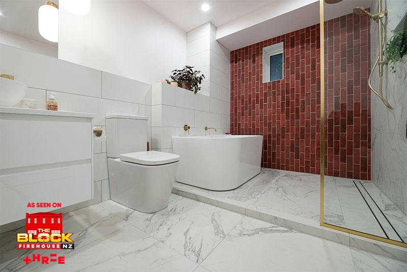 The Block Nz 2019 Bathroom Kitchen Tiles Tile Space