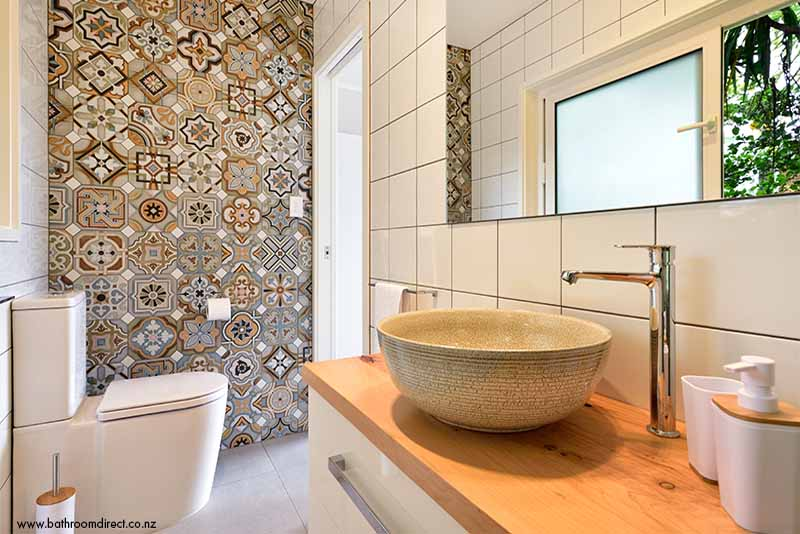 Art Deco Bathroom Oasis Tile Space